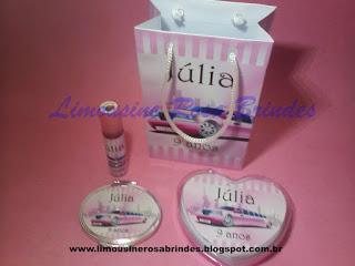 Kit Maquiagem Limousine Rosa