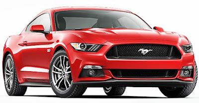 Ford Mustang GT front angle Hd image