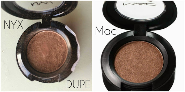 MAC Eye Shadow Dupe