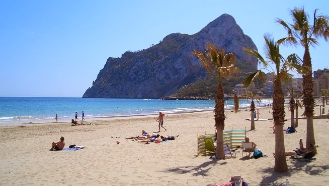 Las playas de Alicante