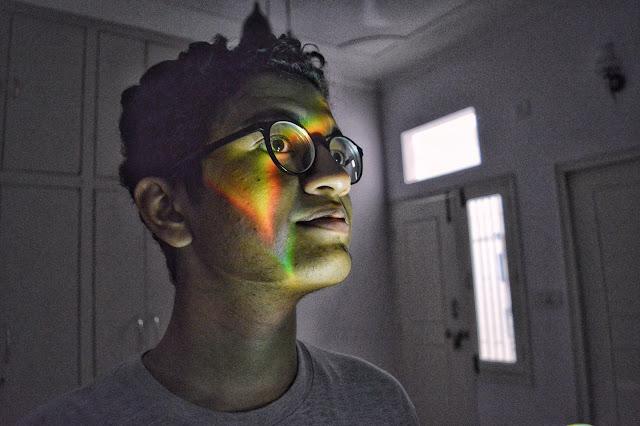 rainbow, shiv sangal, snapseed, darkroom.