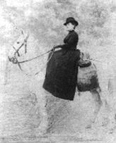 «Retrato ecuestre» (1888) editado por José Matarredona