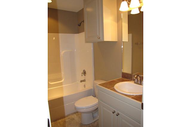 ห้องน้ำแบบบ้านชั้นเดียว