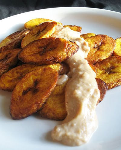 Sweet Fried Plantains And Coconut Peanut Butter Sauce Lisa S Kitchen Vegetarian Recipes Cooking Hints Food Nutrition Articles