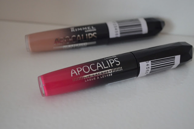 Rimmel - Apocalips - Nude Eclipse - Lip products - Apocaliptic - Review - swatches