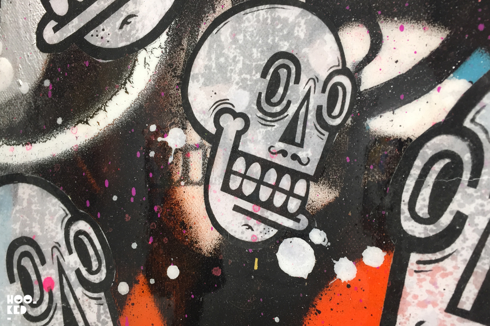 Belgian street artist Joachim's solo show in London. Photo ©Hookedblog / Mark Rigney
