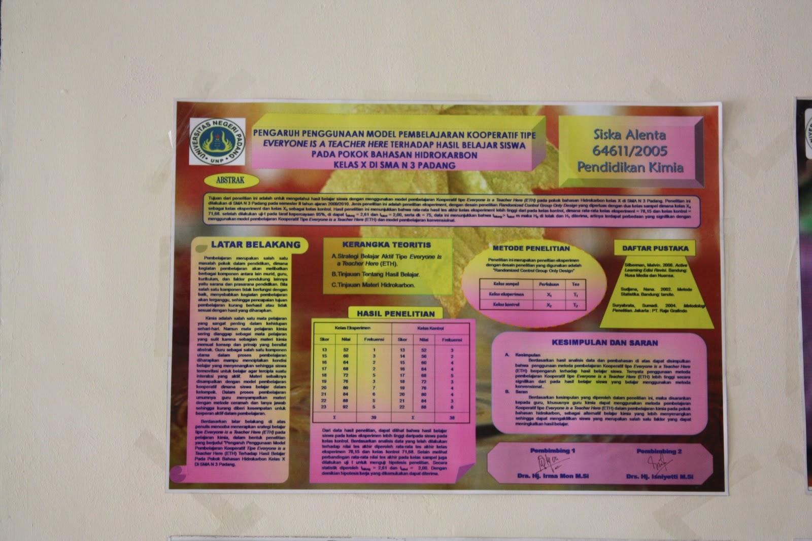 Tumbuhan Obat dan Sains: Poster Skripsi Mahasiswa Pend ...