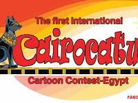 The first International CAIROCATURE Cartoon Contest-Egypt/ 2018