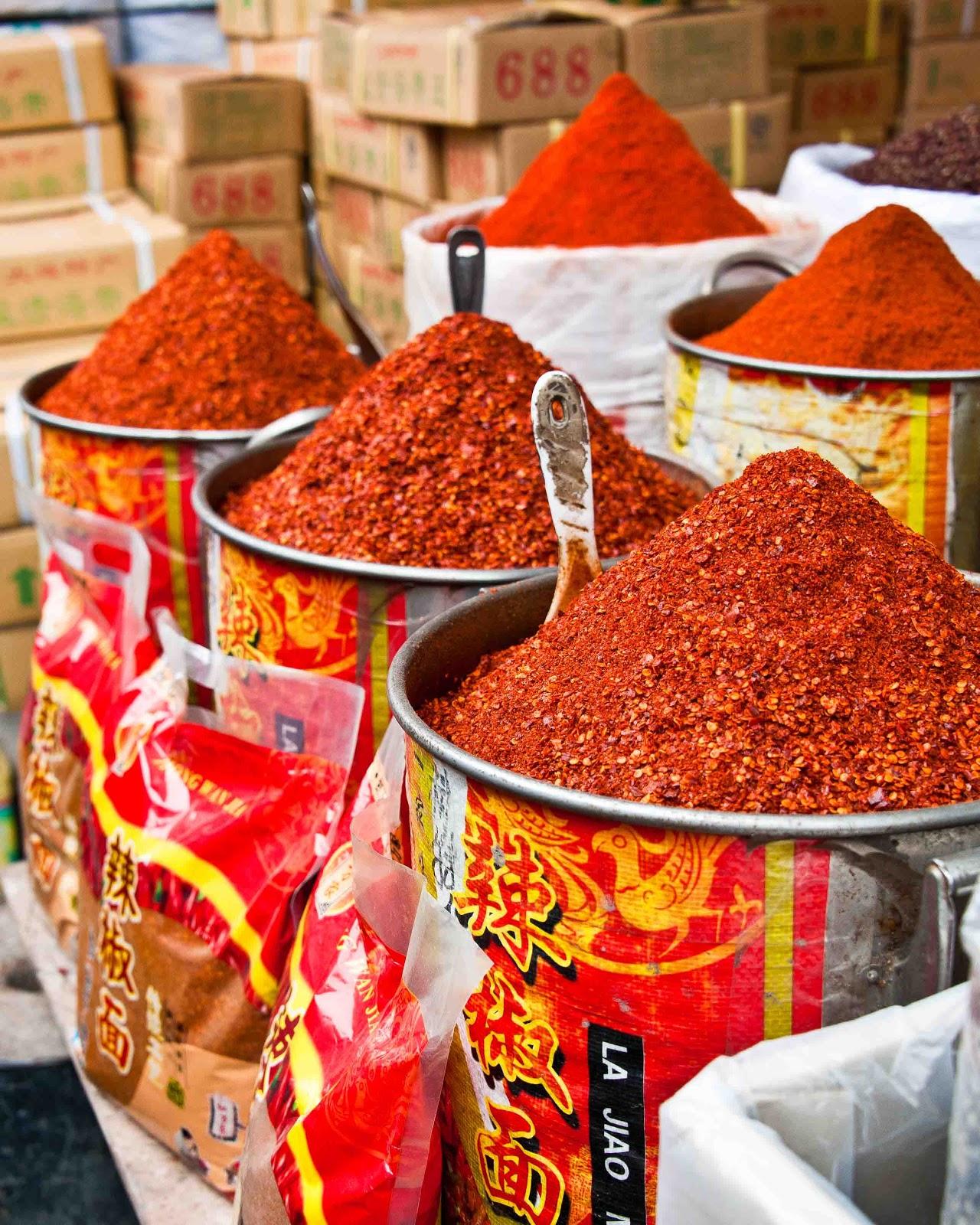 Life on Nanchang Lu: The Chengdu Spice Market 成都香料市場