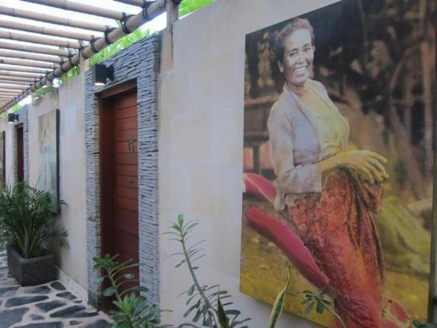 interior hotel scallywags resort gili trawangan Lombok