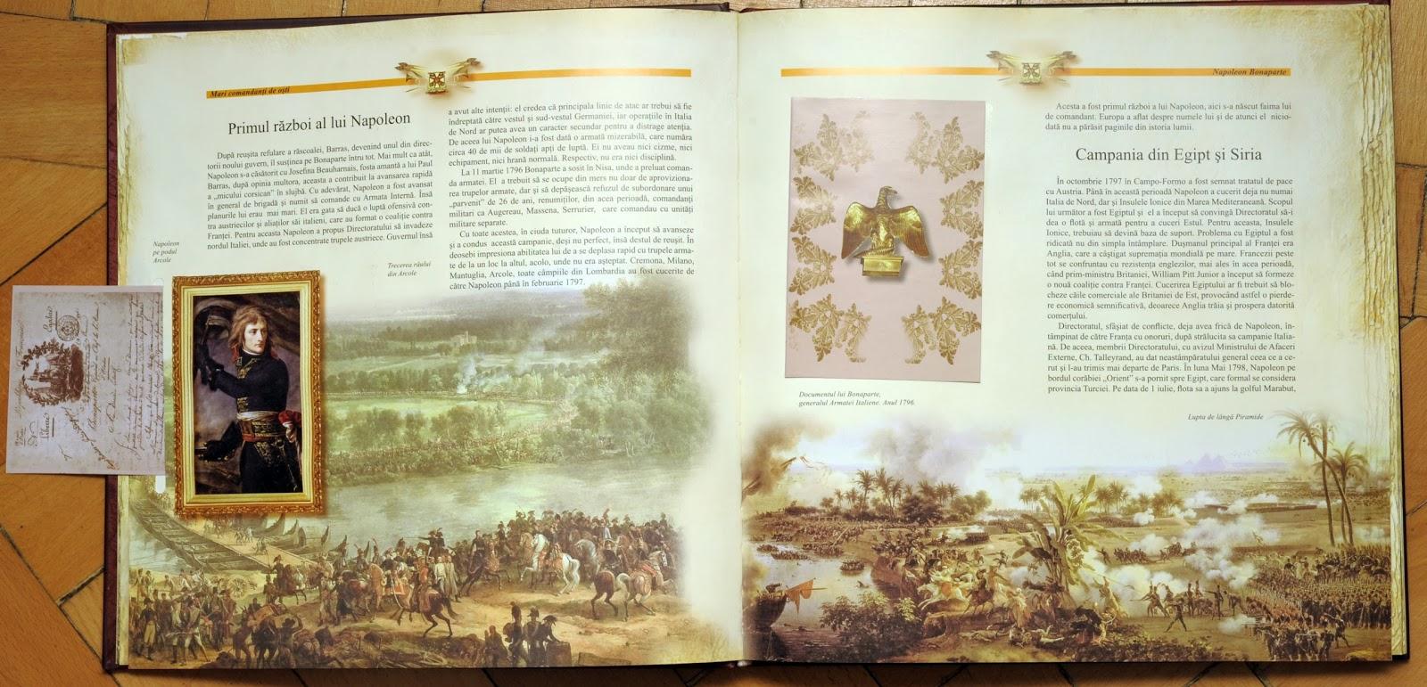 Napoleon - Campania din Egipt si Siria