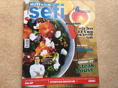 Mutfağın Şefi dergisi