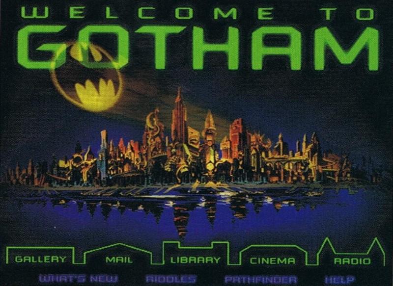 1995 Batman Com External Link The Original Batman Forever Website