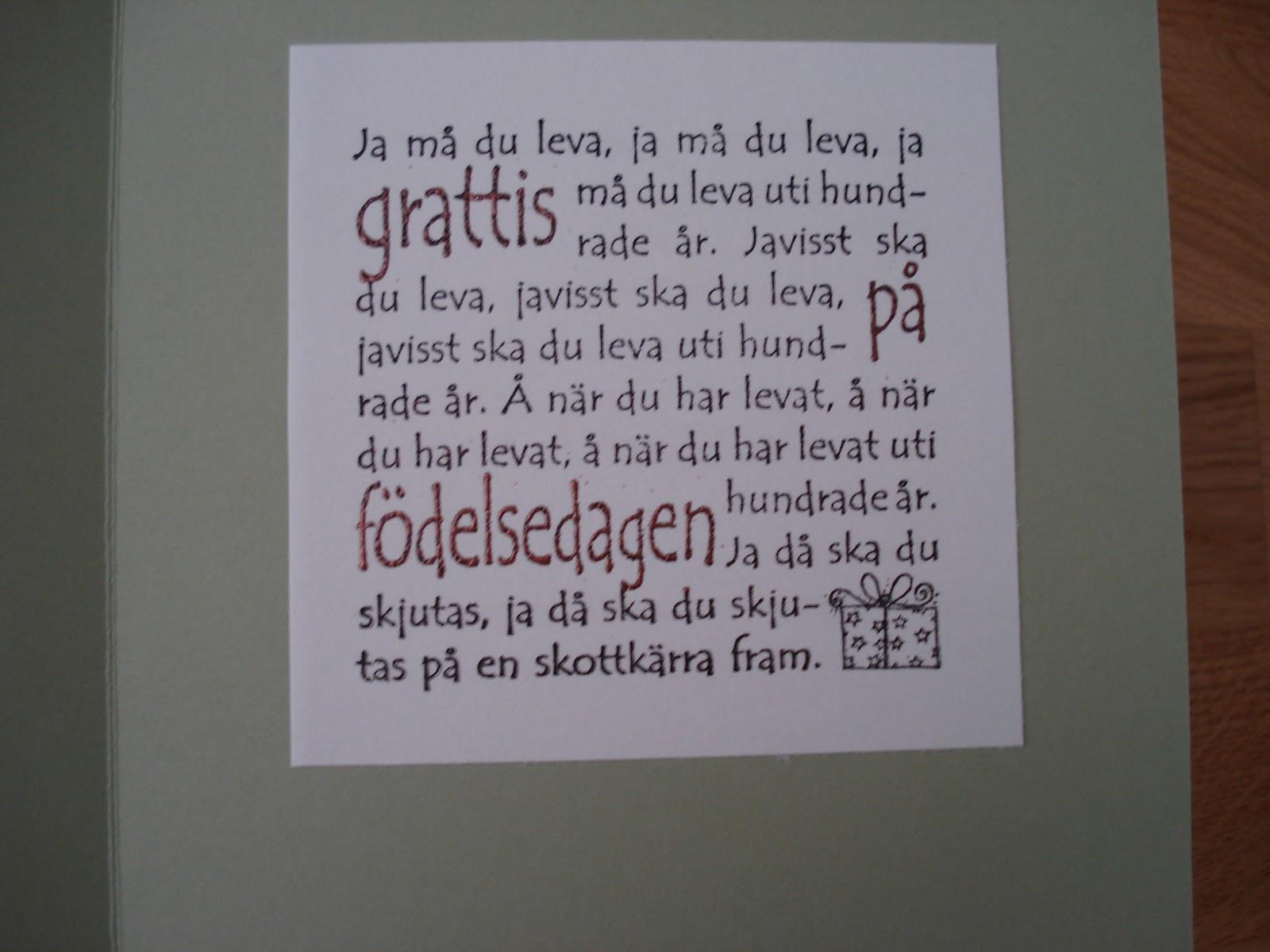 födelsedags grattis text Elmsteins pyssel: Grattis bröder! födelsedags grattis text
