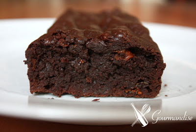 Gourmandise Brownie gluten free goji berry