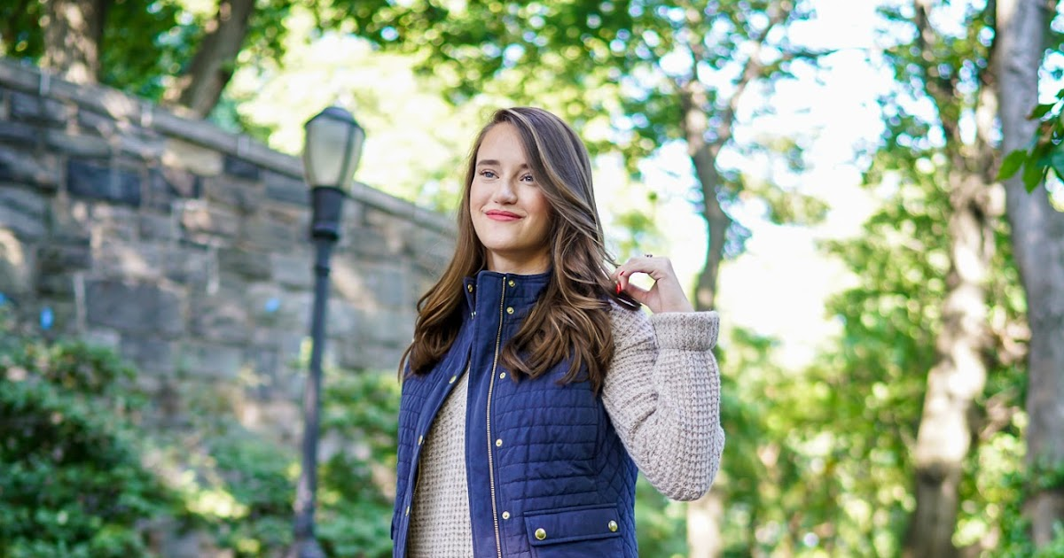Vineyard Vines Quilted Yoke Vest New York City Fashion