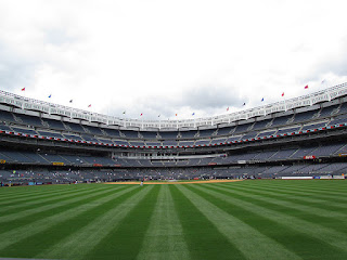 Center to home, New Yankee Stadium