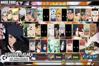Kumpulan Naruto Senki MOD Unlimited Money Full Unlocked v1.20 Terbaru Lengkap 2016 Gratis Download