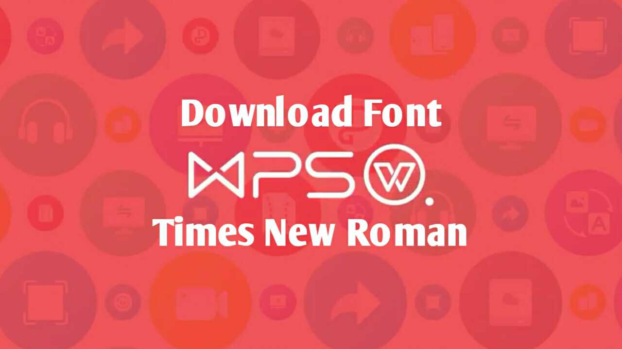 font times new roman
