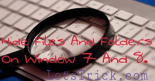 Hide-files-folders-window