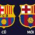 Tin nóng: đội bóng Barcelona đã thay đổi logo