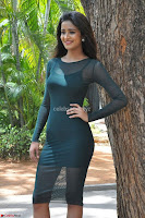 Simran Choudhary Cute beauty with dimples in transparent Green Tight Short Dress ~  Exclusive 014.jpg