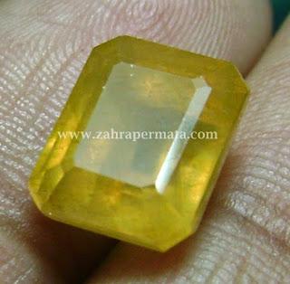Batu Permata Yellow Saphire - ZP 427