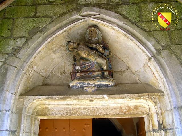 PAREY-SAINT-CESAIRE (54) - L'église Saint-Césaire - Pietà