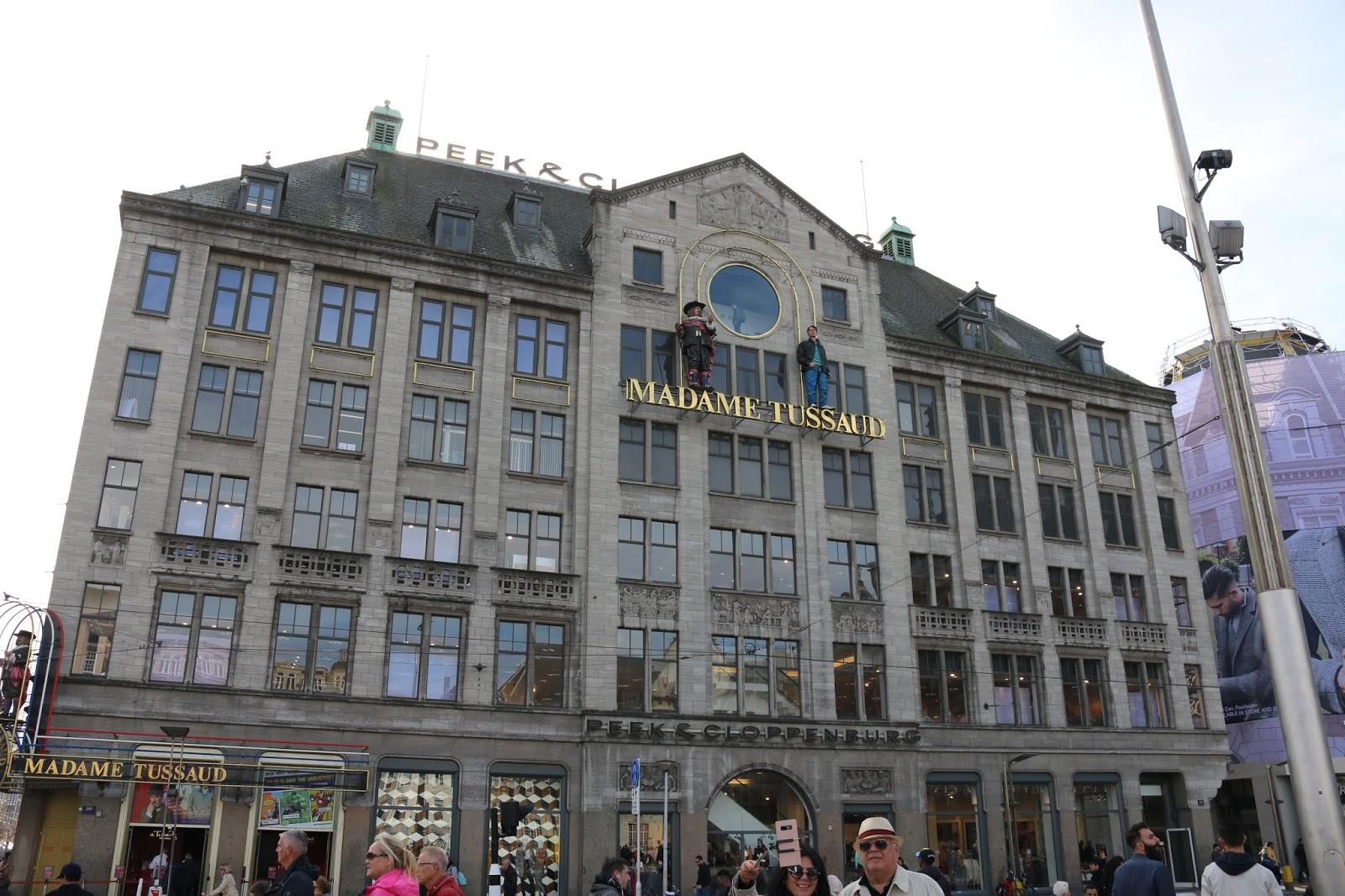 Madame Tussaud Dam Square Amsterdam