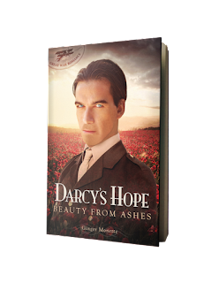 Book Cover: Darcy's Hope - Beauty from Ashes by Ginger Monette