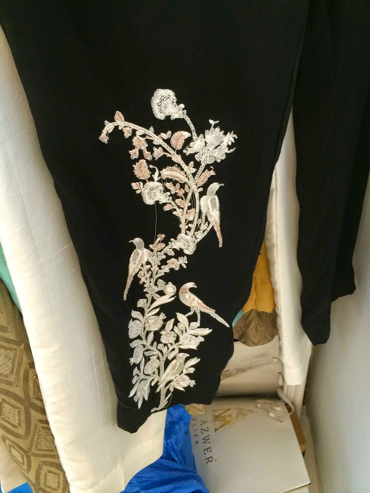 Formal trousers at Nida Azwer - designer pret Pakistan
