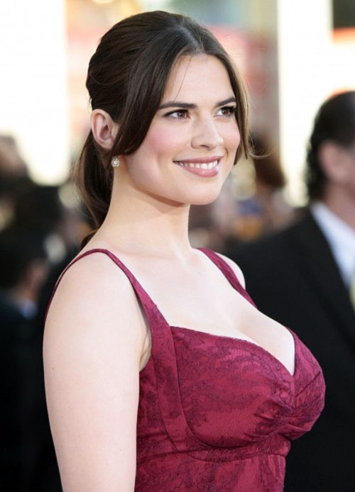 Celebrity Measurements Hayley Atwell Bra Size Weight And Measurements