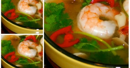 resep sop udang kuah segar   county of food
