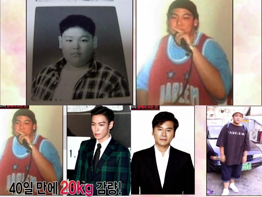 actors coreanos antes y despues de adelgazar