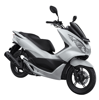 Honda PCX 150 terbaru 2016 putih