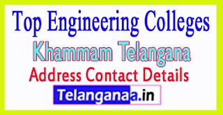 Top Engineering Colleges in Khammam Telangana