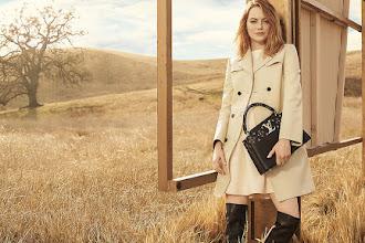 Η Έμμα Στόουν «έγινε» το κορίτσι του Louis Vuitton