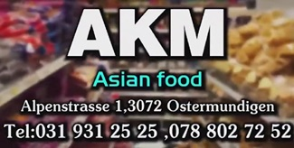 AKM Asian Food | Switzerland