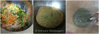Millets Vegetable Roti 2