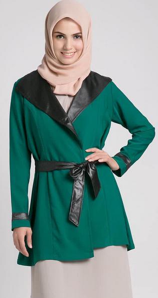 Aneka Model baju Kerja Muslim Terbaru 2015