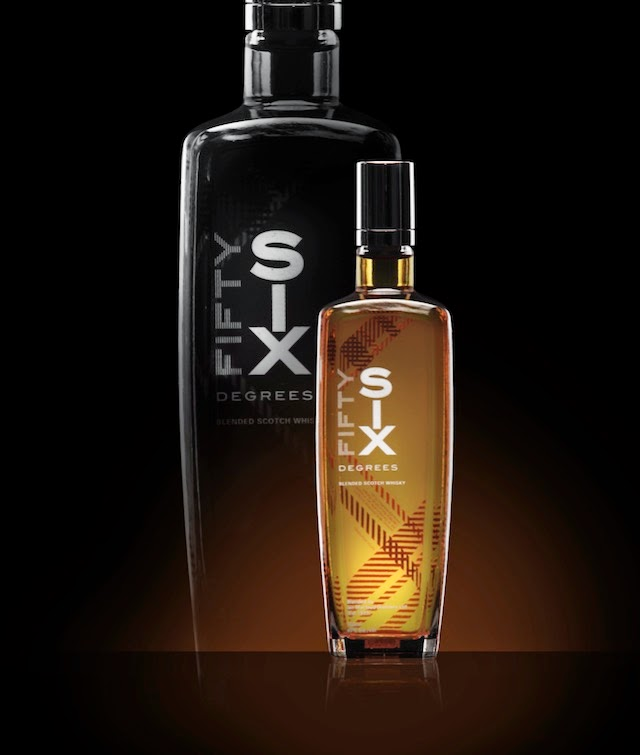 The FIFTYSIX DEGREES bottle design