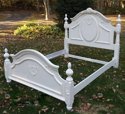 Painted Cottage Bed white