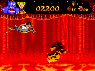 Videojuego Disney's Aladdin