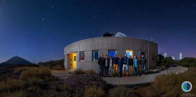 Una visita espectacular al Instituto de Astrofísica de Canarias #tlp2016