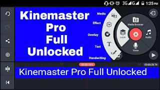 Download Kine Master Pro Full Unlock Layer Terbaru 2018