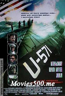 U 571 2000 Hindi Dubbed 300MB Eng BluRay 480p