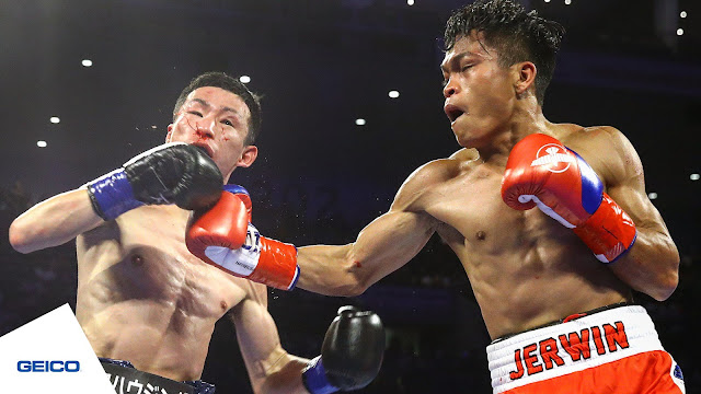 Jerwin Ancajas Beats Up Ryuichi Funai To TKO