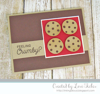 Feeling Crumby card-designed by Lori Tecler/Inking Aloud-stamps and dies from My Favorite Things