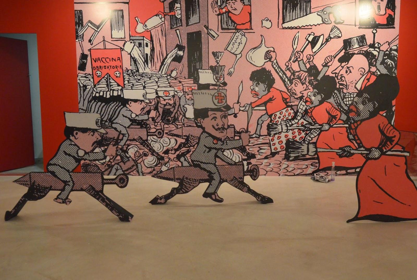 Charge representando a população revoltada com a obrigação de vacinar imposta pelo governo, direto de frases de Sun Tzu e d'A Arte da Guerra.
