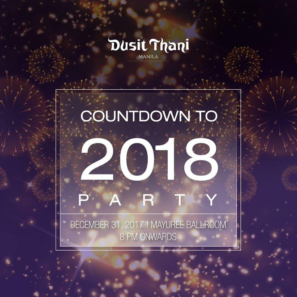 Dusit Thani Manila Countdown to 2018 Party